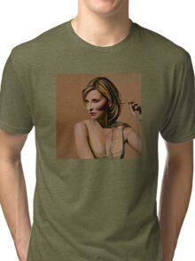 Cate Blanchett painting Tri-blend T-Shirt