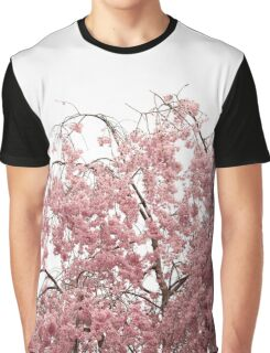 Blossoms on Top of a Cherry Tree Graphic T-Shirt