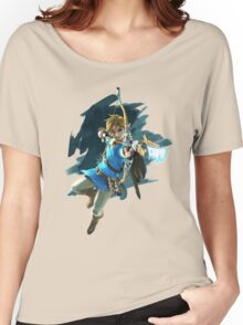 Link from Zelda Wii U: Breath of the Wild Women's Relaxed Fit T-Shirt