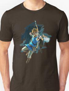 Link from Zelda Wii U: Breath of the Wild T-Shirt