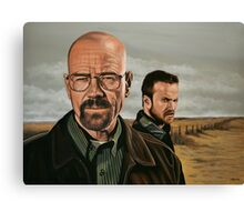 Breaking Bad painting Canvas Print