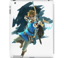 Link from Zelda Wii U: Breath of the Wild iPad Case/Skin