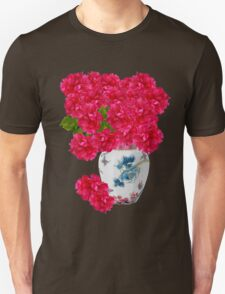Red Peony Flowers T-Shirt