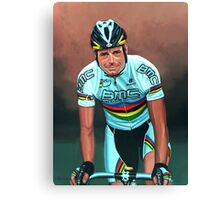 Cadel Evans painting Canvas Print