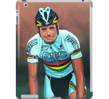 Cadel Evans painting iPad Case/Skin