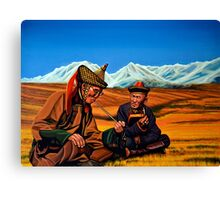Mongolia Land of the Eternal Blue Sky Canvas Print