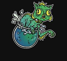 Creature From The Cat Lagoon Womens Fitted T-Shirt