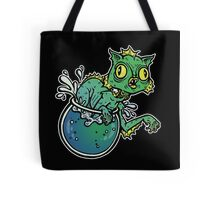 Creature From The Cat Lagoon Tote Bag