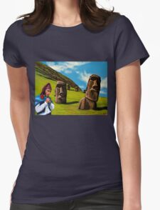 Chile Easter Island Womens Fitted T-Shirt
