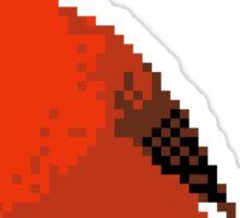 8-bit Cardinal Sticker