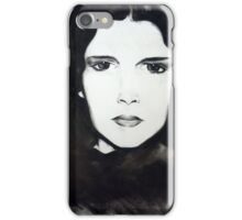 Judy Garland Charcoal iPhone Case/Skin