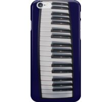 Piano Keyboard Distortion iPhone Case/Skin