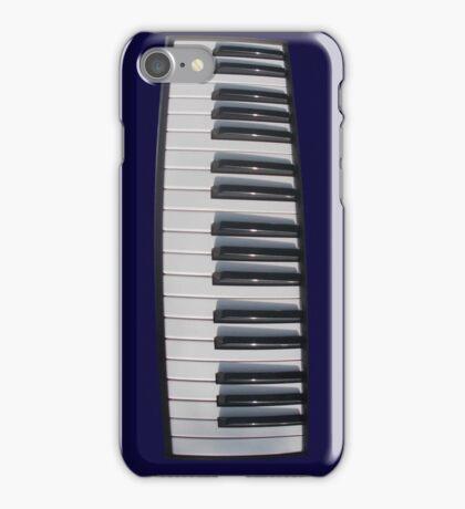 Piano Keyboard Distortion iPhone Case/Skin