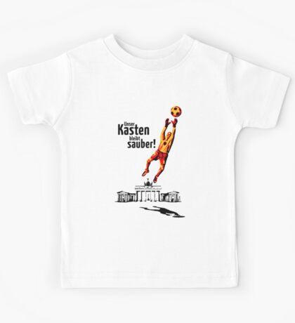 Unser Kasten bleibt sauber! (Football Germany) Kids Tee