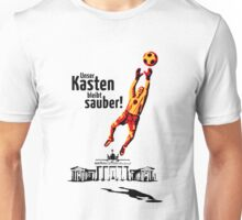 Unser Kasten bleibt sauber! (Football Germany) Unisex T-Shirt