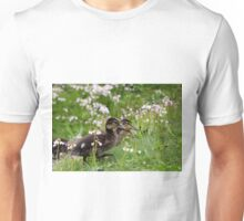 Flower Ducklings Unisex T-Shirt