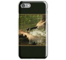Geese Fighting for Dominance iPhone Case/Skin