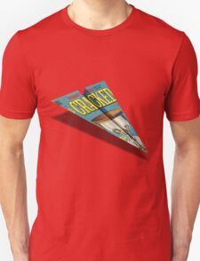 CRACKED Paper Airplane 109 T-Shirt