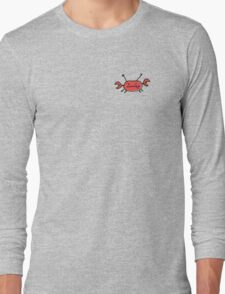 Crab left pocket zip hoodie Long Sleeve T-Shirt