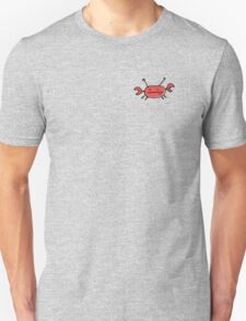 Crab left pocket zip hoodie Unisex T-Shirt
