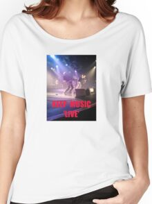 Music Keep Music 'Live' Women's Relaxed Fit T-Shirt