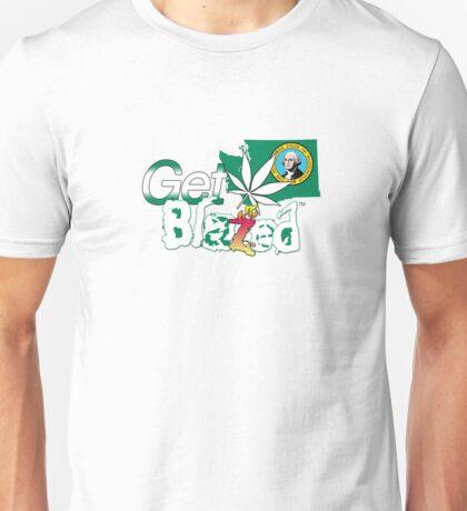 Get Blazed Washington Unisex T-Shirt