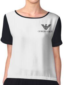 Giorgio Armani merchandise Chiffon Top