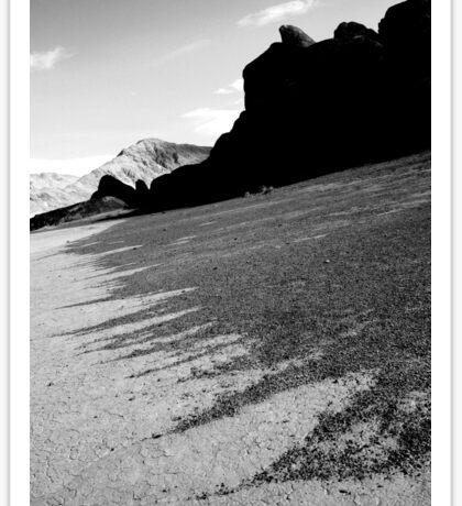 Death Valley Sand Art Sticker