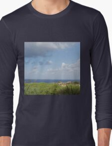 Grass and sea Long Sleeve T-Shirt