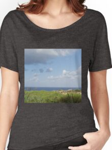 Grass and sea Women's Relaxed Fit T-Shirt