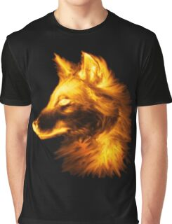 Gold wolf Graphic T-Shirt