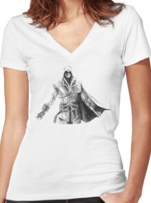 Assassin's Creed Women's Fitted V-Neck T-Shirt