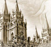 PhotoSketch - Salt Lake Temple Sticker