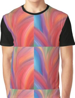 Flower Power Energy Painting  Graphic T-Shirt