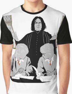 Discipline - Potter, Weasley, Snape Graphic T-Shirt