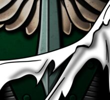 Dark Angels Armor Sticker