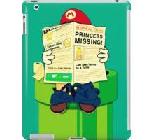 pooping Mario iPad Case/Skin