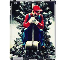 Super Mario's game of thrones iPad Case/Skin