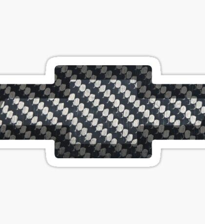 Chevy Carbon Fiber Sticker