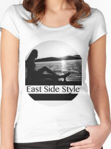 River Side Women's Fitted Scoop T-Shirt