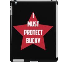 I Must Protect Bucky iPad Case/Skin