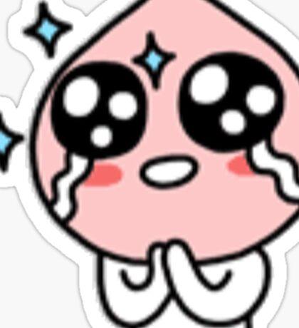 KakaoTalk Friends Apeach (Ecstatic) Sticker