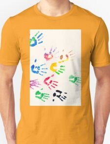Rainbow Color Arms Prints Unisex T-Shirt