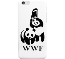 WWF parody iPhone Case/Skin