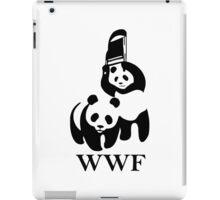 WWF parody iPad Case/Skin