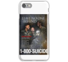 Military Suicide Prevention iPhone Case/Skin