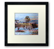 Heavenly Evening Framed Print