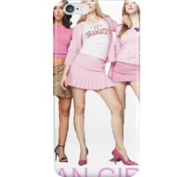 Mean Girls cover main pose iPhone Case/Skin