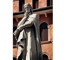Dreaming of Dante in Verona Photographic Print