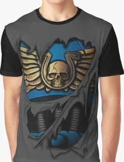 Ultramarines Armor Graphic T-Shirt